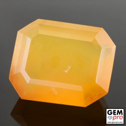 39.49 Carat Orange Fire Opal AA Gem from Madagascar