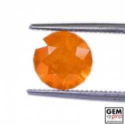 2.80 Carat Orange Spessartite Garnet Gem from Madagascar Natural and Untreated