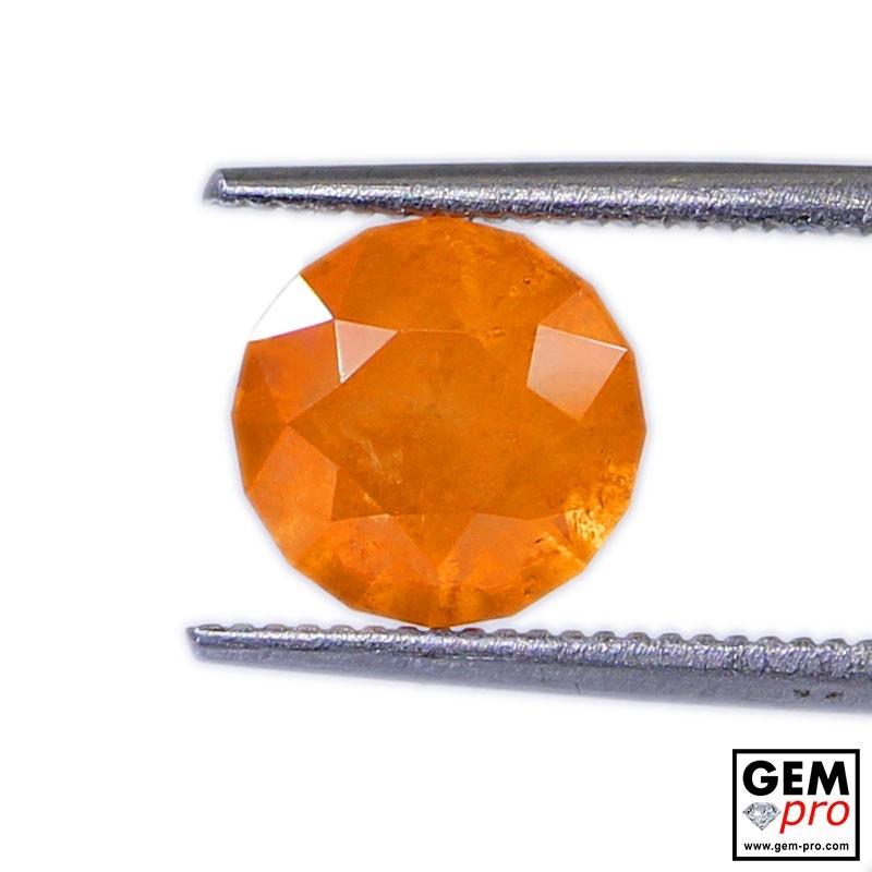 2.80 Carats Grenat Spessartite Orange Gemme de Madagascar