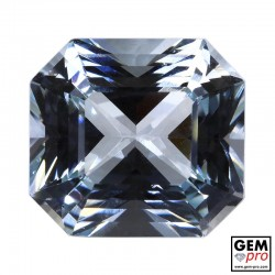 White Goshenite 10.31ct Octagon  from Madagascar Gemstone