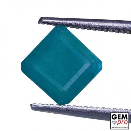 1.68 Carat Greenish-Blue Grandidierite Gem from Madagascar Natural and Untreated