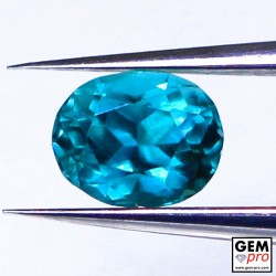 0.32ct Grandidierite AAAA Oval Cut Natural Gemstone from Madagascar