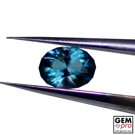 0.16 Carat Blue Grandidierite AAA Gem from Madagascar Natural and Untreated