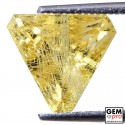 3.55 Carat Yellow Golden Beryl Gem from Madagascar