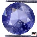 1.67 Carat Violet Blue Iolite Gem from Madagascar Natural and Untreated