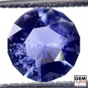 1.25 Carat Violet Blue Iolite Gem from Madagascar Natural and Untreated