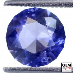 1.69 Carat Violet Blue Iolite Gem from Madagascar Natural and Untreated