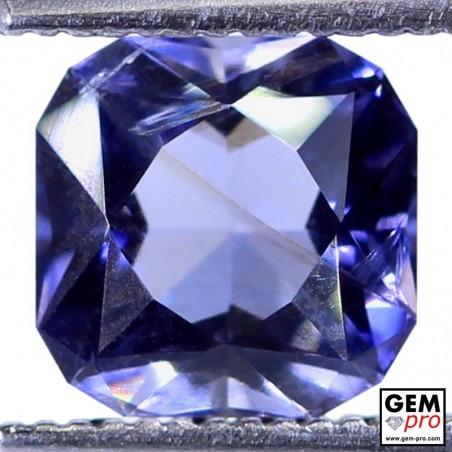1.47 Carat Iolite Bleue Violet Gemme de Madagascar