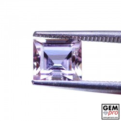 2.01ct Morganite Princess Cut Natural Gemstone from Madagascar