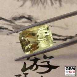 Yellow Orthoclase 6.44 ct Cushion from Madagascar Gemstone