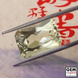 Yellow Orthoclase 8.90 ct Octagon from Madagascar Gemstone