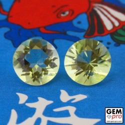 Yellow Orthoclase 3.08 ct Round from Madagascar Gemstone
