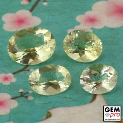 Yellow Orthoclase 6.86 ct Oval from Madagascar Gemstone