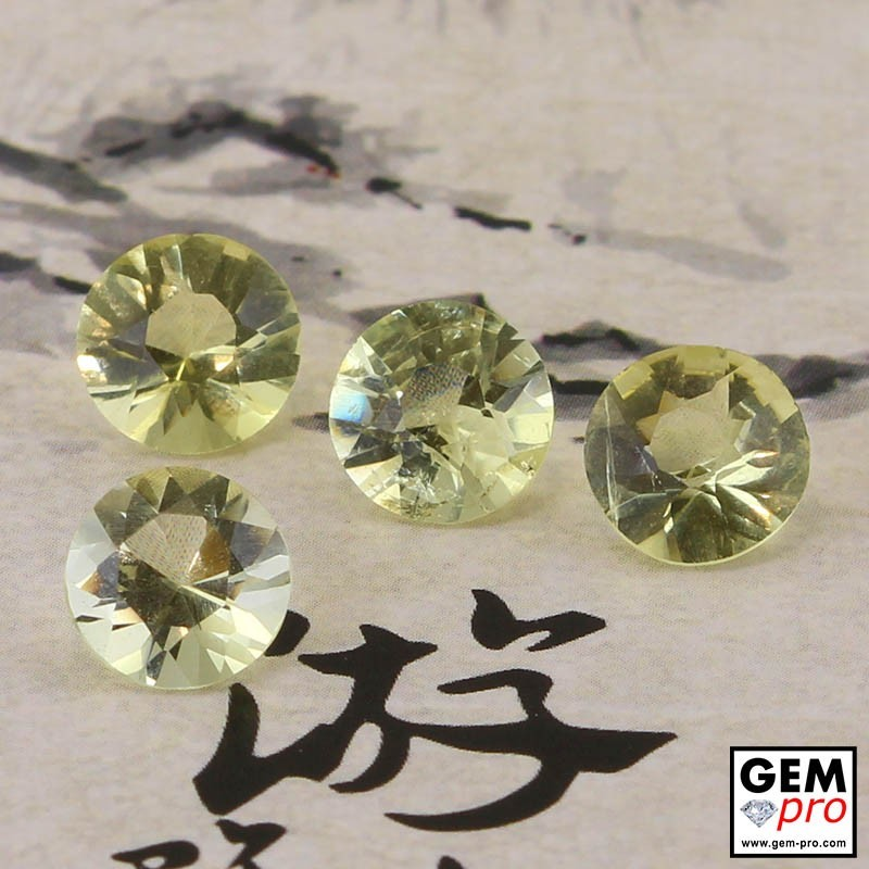 Yellow Orthoclase 4.93 ct Round from Madagascar Gemstone