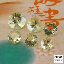 Yellow Orthoclase 8.26 ct Round from Madagascar Gemstone