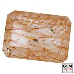 60.80 Carat Quartz Rutile de Madagascar