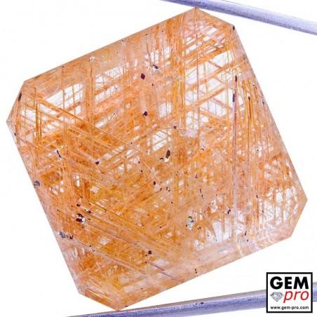 58.74 Carat Quartz Rutile de Madagascar