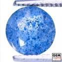 0.8 ct. Quartz Inclusions Lazulite