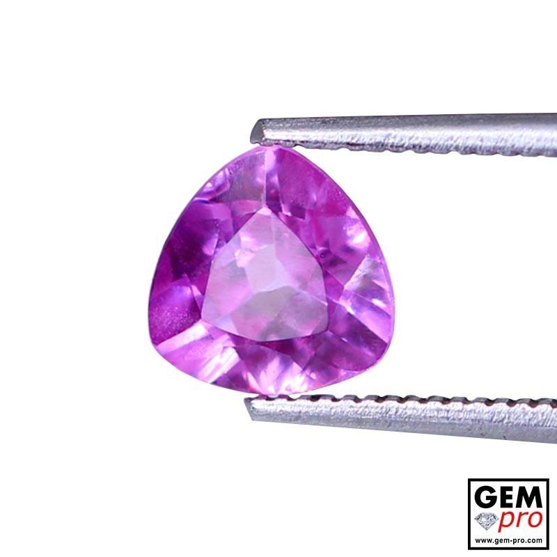 1.44 carat Pink Sapphire Gem from Madagascar