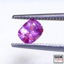 0.56 carat Pink Sapphire Gem from Madagascar
