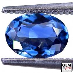 0.93 Carat Saphir Bleu Gemme de Madagascar