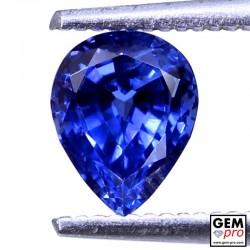 1.34 carat Blue Sapphire Gem from Madagascar