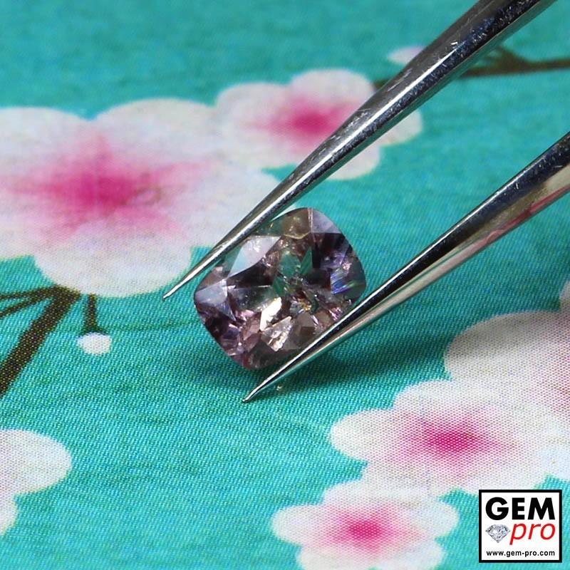 0.41 carat Purple Pink Sapphire Gem from Madagascar