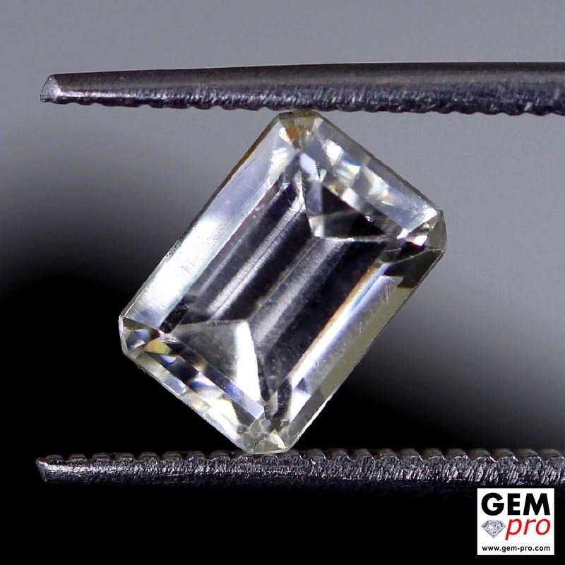 2.78 Carat Colorless Sapphire Gems from Madagascar