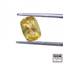 1.92 Carat Golden Scapolite Gems from Madagascar