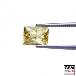 1.60 Carat Golden Scapolite Gems from Madagascar