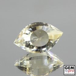 9.6ct Smoky Quartz Gem from Madagascar Natural and Untreated