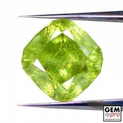 3.34 Yellowish Green Sphene from Madagascar Natural and Untreated
