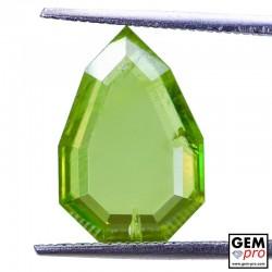 5.69ct Sphene Fancy Shield Cut 15 x 10 mm Natural Gemstone from Madagascar