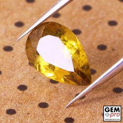 0.66 ct Yellow Tourmaline Gems from Madagascar