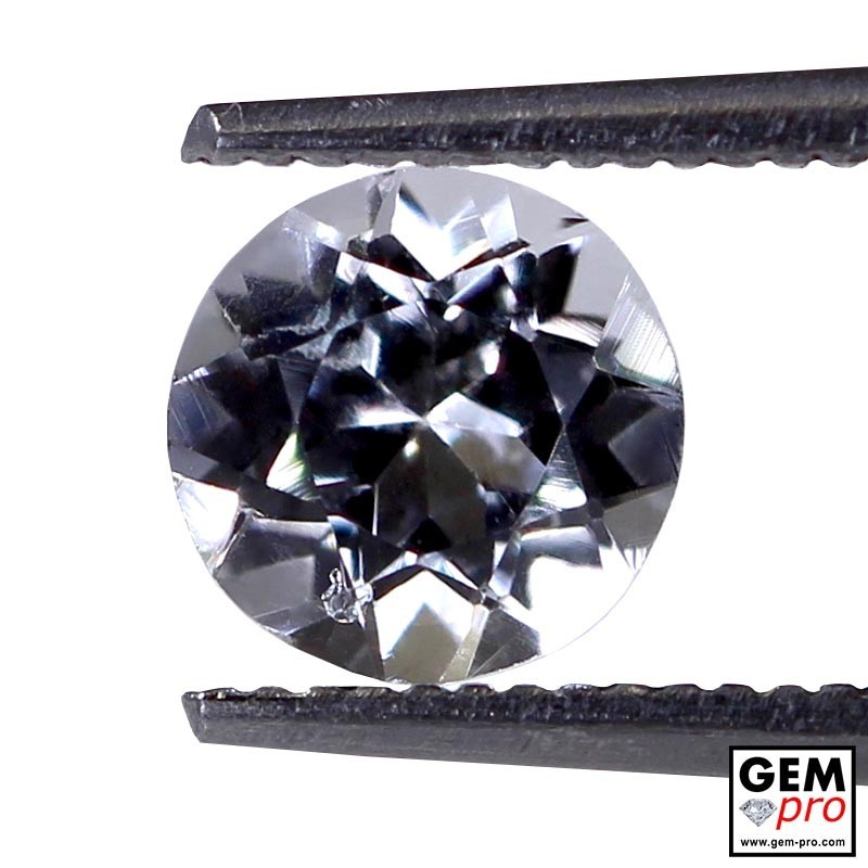 0.89 ct Colorless Tourmaline Gems from Madagascar