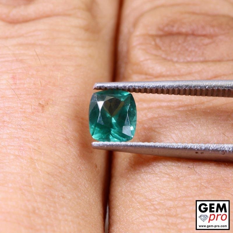 Apatite Verte 0.91ct Forme Coussin de Madagascar