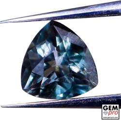 0.33 ct Indicolite Tourmaline Gem from Madagascar Natural and Untreated