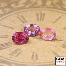 2.00 ct Mixed Colors Tourmaline Gem 3 pcs from Madagascar Natural and Untreated