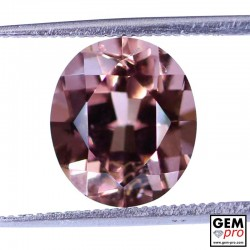 4.88 ct Rose Pink Tourmaline Gem from Madagascar Natural and Untreated