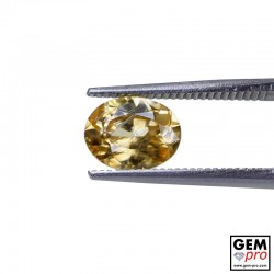 Golden Yellow Zircon 1.98 ct Oval from Madagascar Gemstone