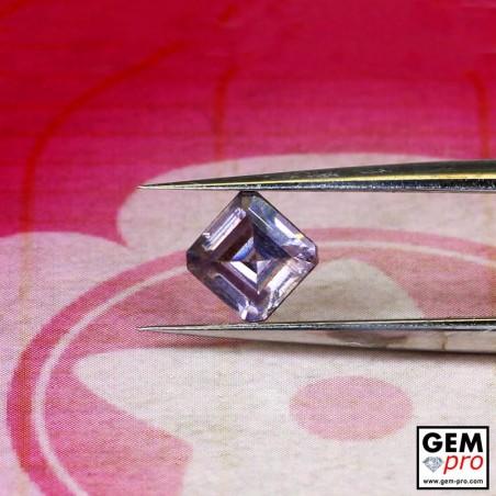 0.70 carat Purple Pink Sapphire Gem from Madagascar