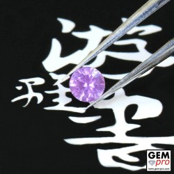 0.27 carat Pink Lilac Sapphire Gem from Madagascar