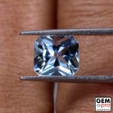 Blue Aquamarine 2.2ct Octagon from Madagascar Natural and Untreated Gemstone