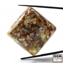 Multicolor Common Opal 75.70 ct Square from Madagascar Gemstone