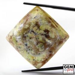 47.38 Carat Opale Commune Multicolore de Madagascar