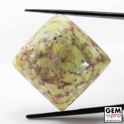 Multicolor Common Opal 39.72 ct Square from Madagascar Gemstone