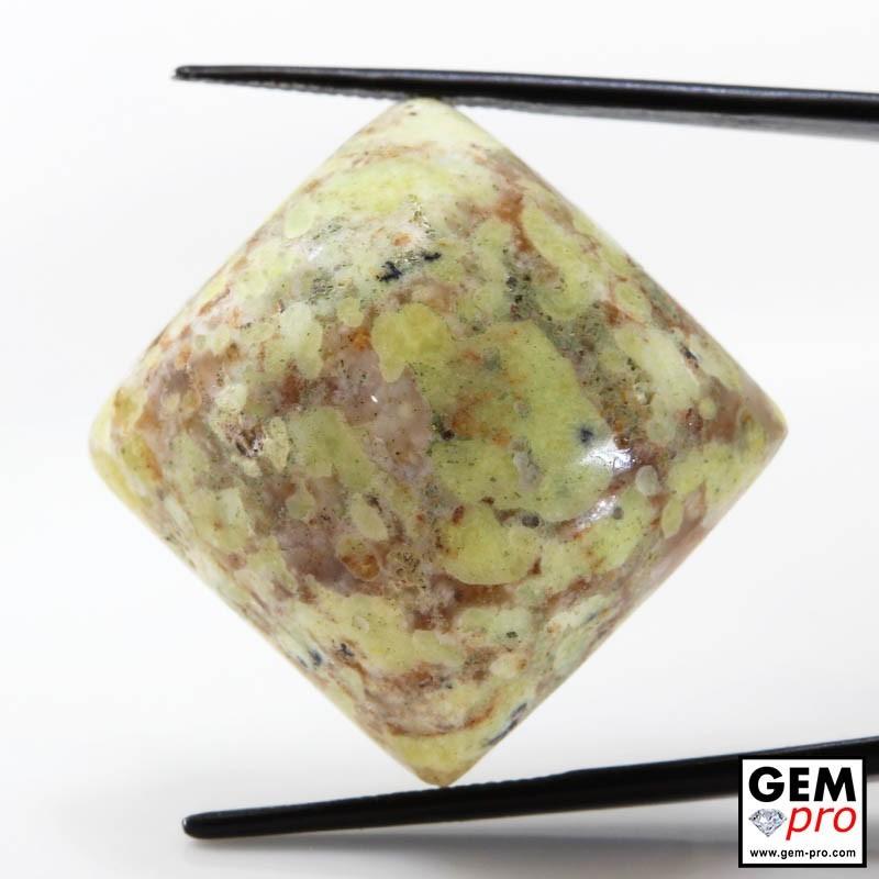 39.72 Carat Opale Commune Multicolore de Madagascar