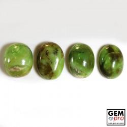 88.50 Carat Opale Commune Verte Multicolore 4 p. de Madagascar