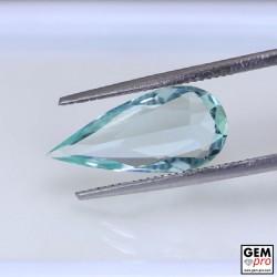Natural Aquamarine from Madagascar 2.35 carat Pear Cut 16.0 x 7.4 x 3.9 mm gemstone from Madagascar island.