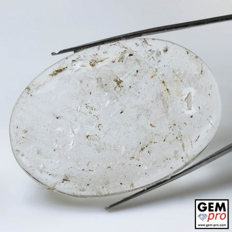 117.40 ct Colorless Quartz Gem from Madagascar Natural and Untreated